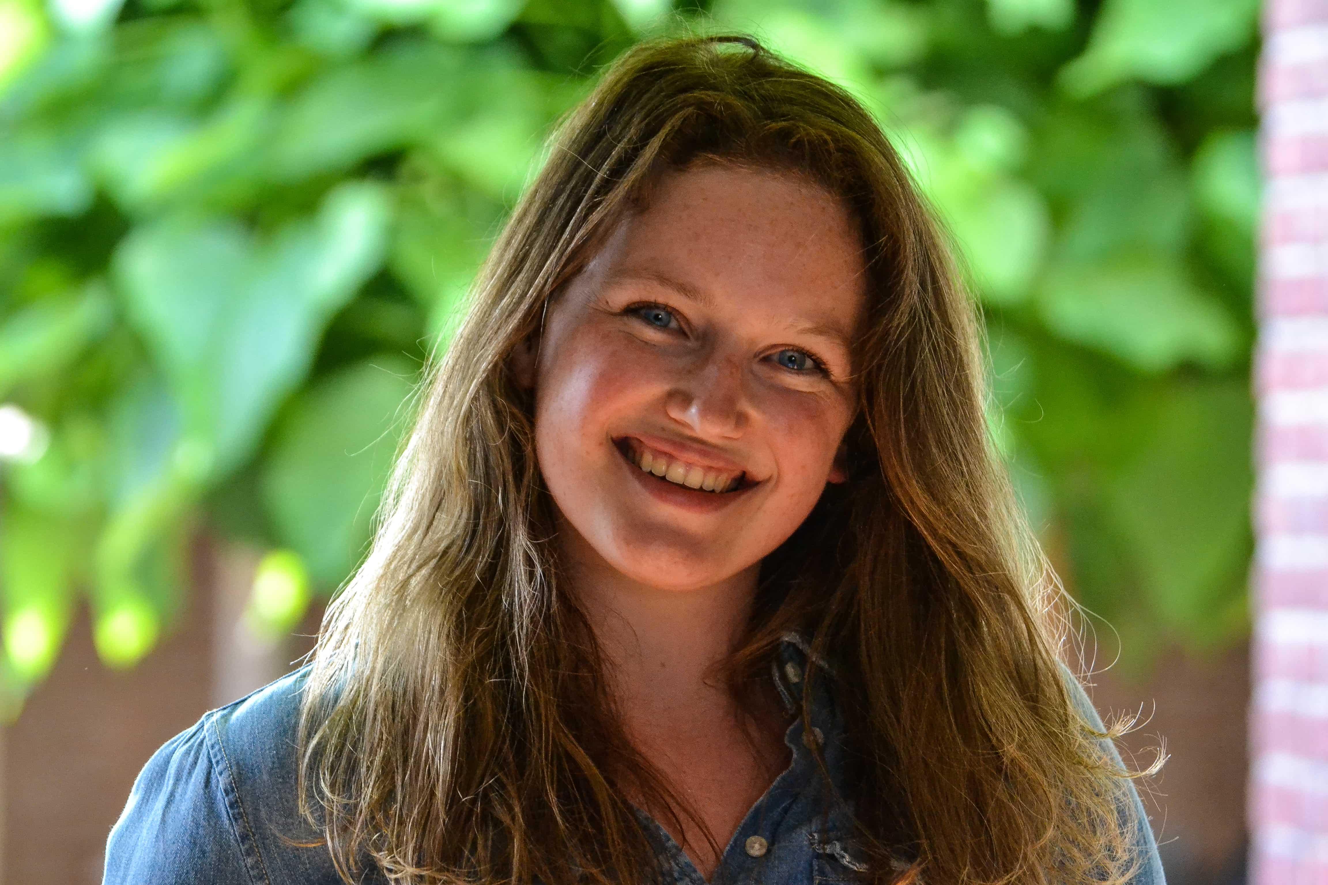 Knap, sportief, wielerfanaat en slim: meet de Miss; Amy Francken